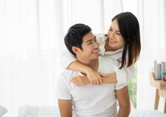 Biểu hiện rụng trứng: Tăng ham muốn ở phụ nữ